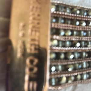 """Kenneth Cole Jewelry - Kenneth Cole NY """"stone cluster rose gold"""" bracelet"""